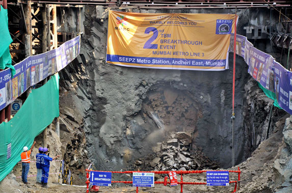 MMRC completes tunneling of about 15 KMs