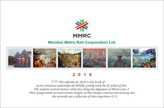 This MMRC Art Initiative comprises of paintings done by students from Sir JJ School Of Arts