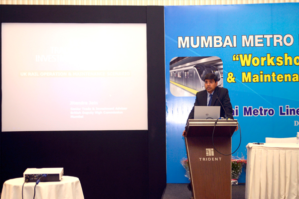 Presentation by UK Trade India