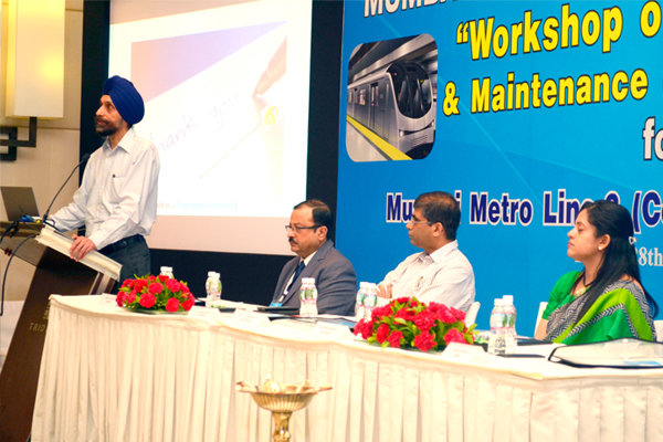 Inaugural Address by Shri. U.P.S. Madan, MC/MMRDA