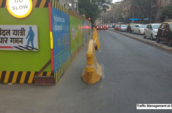 Traffic management at DN Road