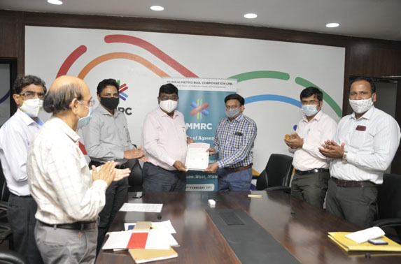 MMRC signed an agreement with the Forest Development Corporation of Maharashtra (FDCM) to plant 9000 trees by Miyawaki method in the next 3 months.