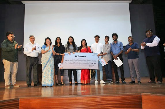 The first prize was bagged by Rachna Sansad Academy of Architecture.