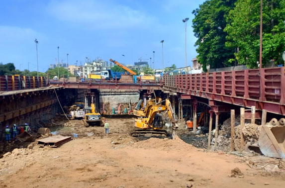 Dharavi Station - Excavation