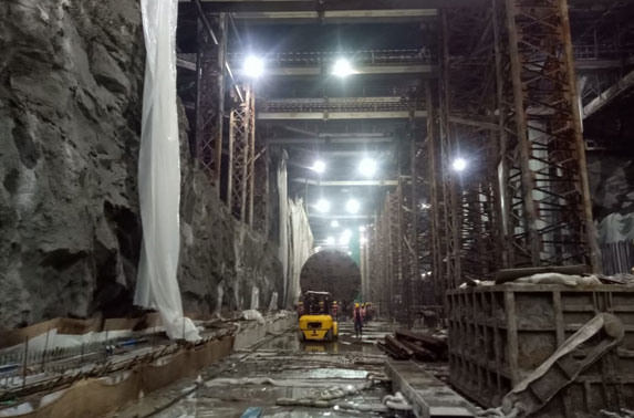 TBM-2 Drag Progress at Churchgate Station