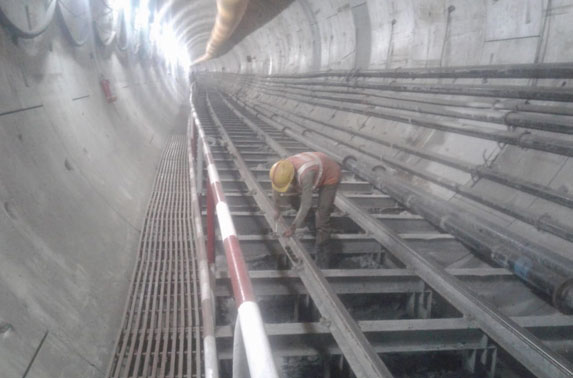 Tunnel Rail Maintenance