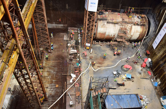 UGC-02 TBM retrieval - Mumbai Central