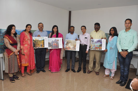 MD. MMRC, Ms. Ashwini Bhide along with senior officials of MMRC