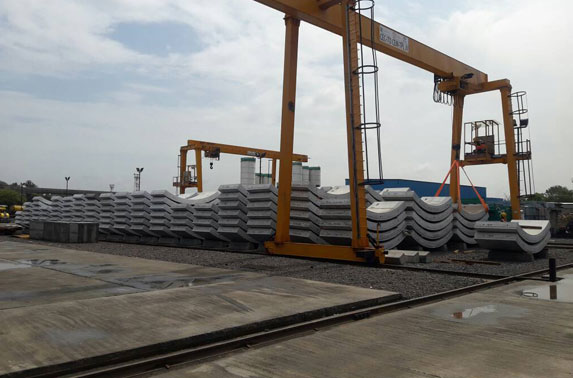 Casting Yard stacking bay