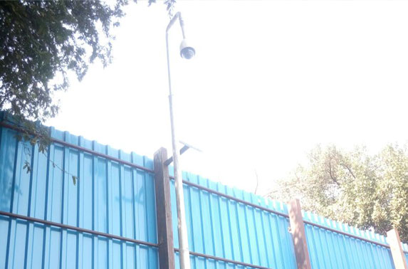 CCTV Camera Installation work completed outside the Seepz