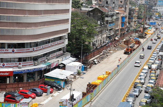 Dadarf road Diversion