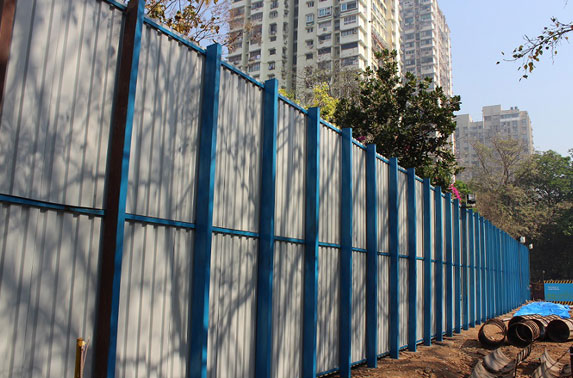 Exclusive fencing to protect Colaba Woods Garden