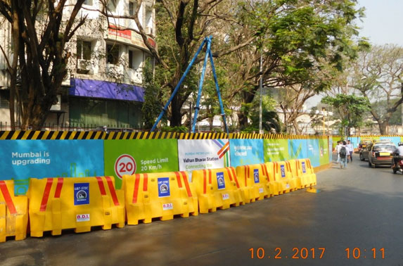 Geo-technical investigation for tunnel between Vidhan Bhavan and Churchgate