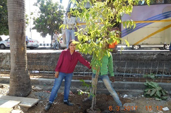 New tree planted at Police Gymkhana