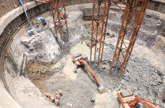 Nayanagar Shaft Excavation