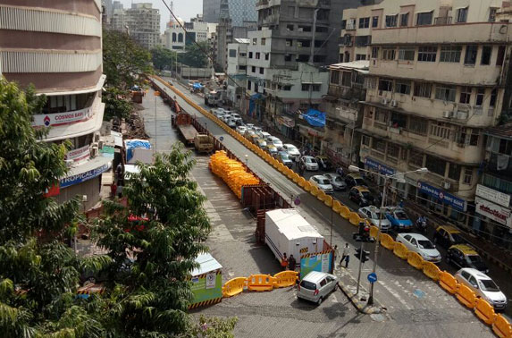 Traffic Diversion Dadar