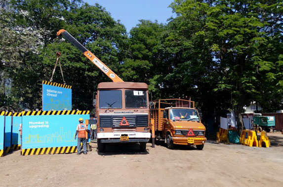 Use of safe loading, unloading and transportation methods for heavy materials