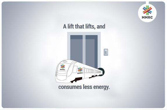 A lift that lifts, and consumes less energy.