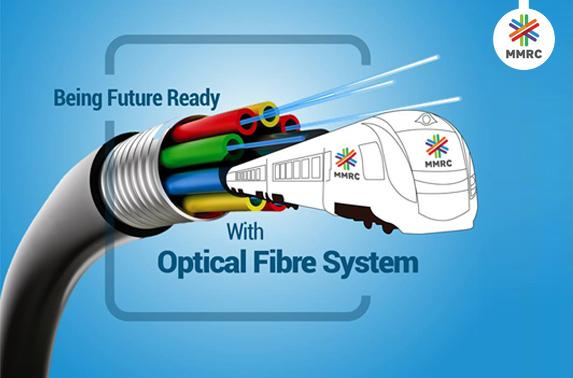 Being future ready with optical fibre system.
