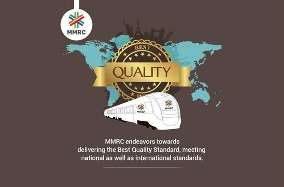 MMRC endeavors towards delivering the Best Quality Standard, meeting national as well as international standards