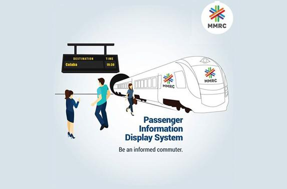 Passenger Information Display System.