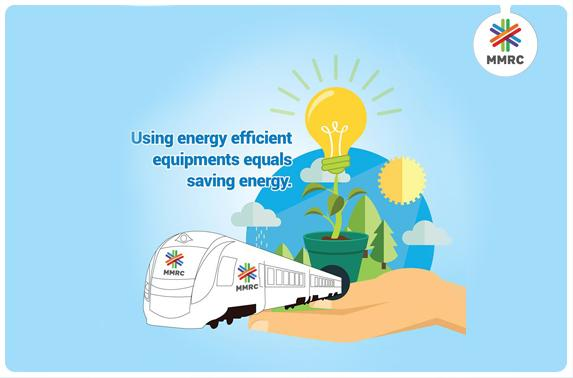 Using energy efficient equipments equals saving energy.