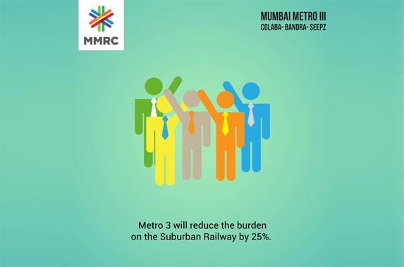 Metro 3 will reduce the burden on the Suburban Railway by 25%