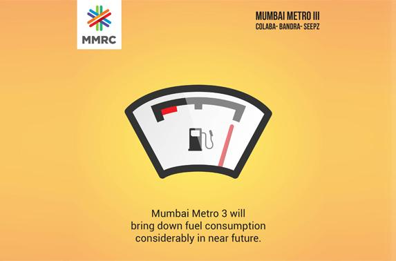 Mumbai Metro 3 will bring down fuel consumption considerably in near future