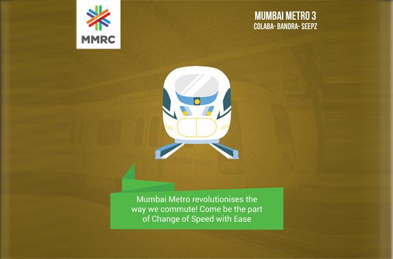 Mumbai Metro revolutionises the way we commute! Come be the part of Change of Speed with Ease