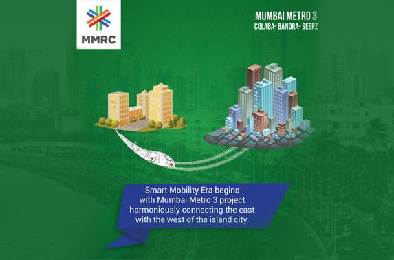 Smart mobility era begins with mumbai metro 3 project harmoniusly connecting the east with the west of the island city