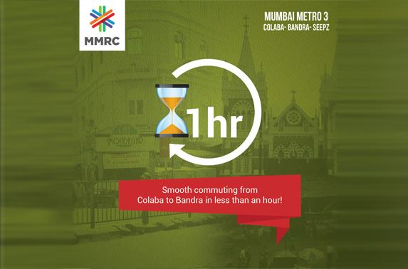 Smooth commuting from Colaba to Bandra in less than an hour!