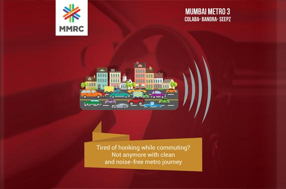 Tired of honking while commuting? Not anymore with clean and noise-free metro journey