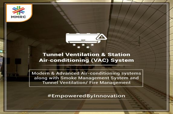Tunnel ventilation and station air conditioning (vac) system