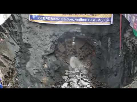 Embedded thumbnail for MMRC's second tunnel breakthrough at SEEPZ